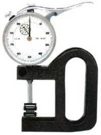 Dial Thick Gauge for Roller Bearing Anvil for Moving Objects