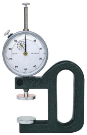 Dial Thickness Gauge for Foam Thickness