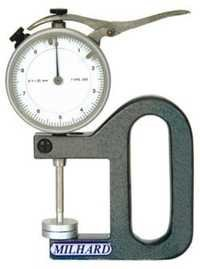 Low Force Dial Thickness Gauges