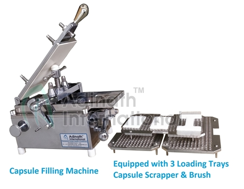 300 Holes Manual Capsule Filling Machine