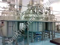Cosmetic Cream Preparation Plant