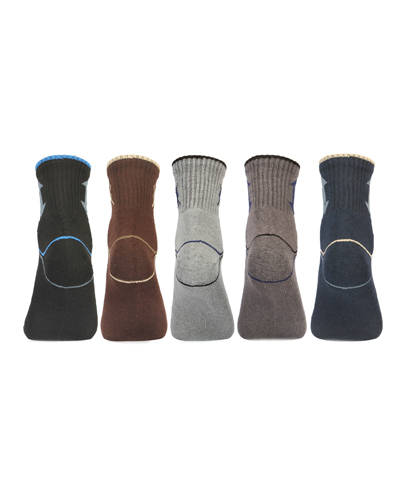 Long Elastic Terry Cozy Socks