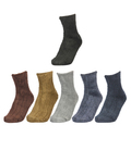Extra Stretchable Terry Anklet Sober Socks