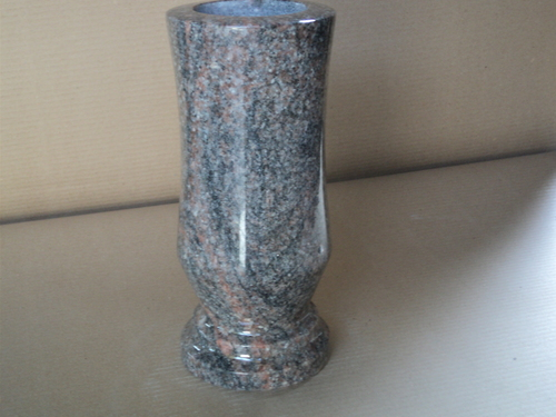 Paradiso Beveled Granite Vases