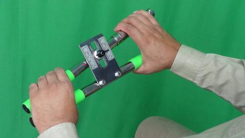 HAND EXERCISER, Stainless Steel