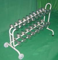 DUMBBELLS SET (54kg. Set with Cart):