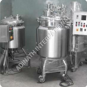 Stainless Steel Preparation Vessel