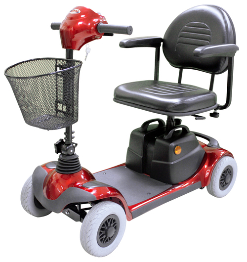 Four wheel electric scooters