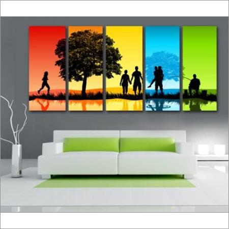 5 Pcs Wall Painting