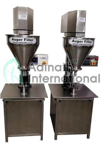 Double Auger Powder Filling Machine
