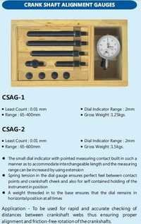 Crank Shaft Alignment Gauge L.c. 0.01mm