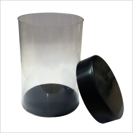 Transparent Pvc Plastic Packaging Tube