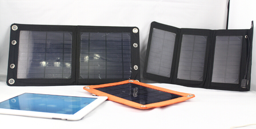 7W solar charger folding solar panel for iphone5,iphone5S.iphone 6 and iphone 6 plus