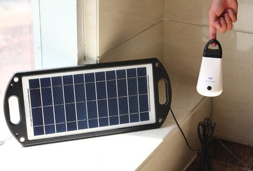Solar panel 17w for lamp and mobile phone