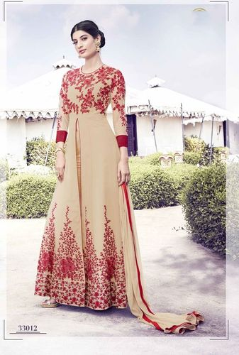 Georgette Stylish Wedding Wear Suit