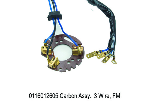 1563 SY 2605 Carbon Assy. 3 Wire, FM