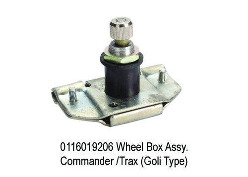 1572 SY 9206 Wheel Box Assy. Commander Trax (Goli