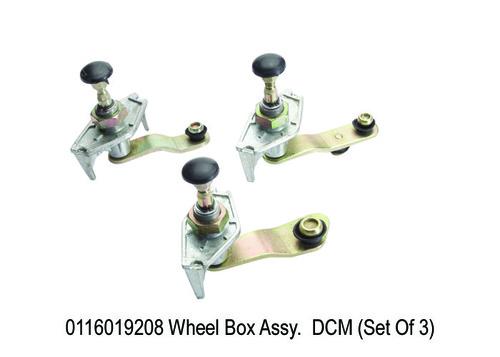 1574 SY 9208 Wheel Box Assy. DCM (Set Of 3)