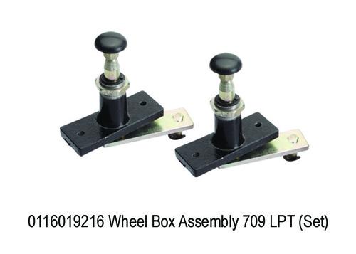 1578 SY 9216 Wheel Box Assembly 1109  709 LPT (Set