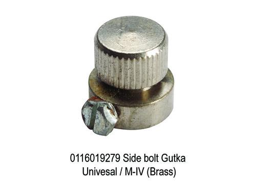 1586 SY 9279 Side bolt Univesal  M-IV (Brass