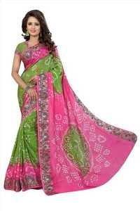 Wedding Sarees Online Bandhani Sarees Sale