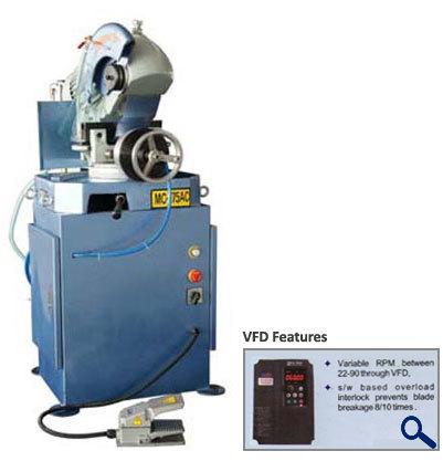 275 Semi Automatic Pipe Cutting Machine