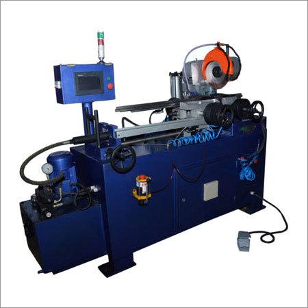 HYDRAULIC AUTOMATIC PIPE CUTTING MACHINE