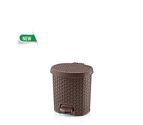 Rattan Pedal Dustbin No.0  ( 3 lt)