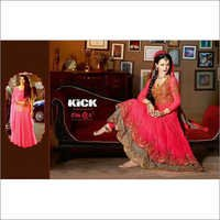 Party Wear Lehenga Style Anarkali