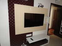 Back Painted TV Unit