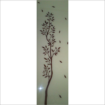 Back Painted Glass Design
