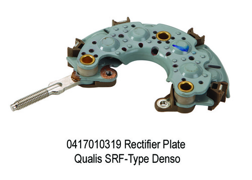 1607 XT 319 Rectifier Plate Qualis SRF-Type Denso
