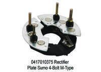 1618 XT 375 Rectifier Plate Sumo 4-Bolt