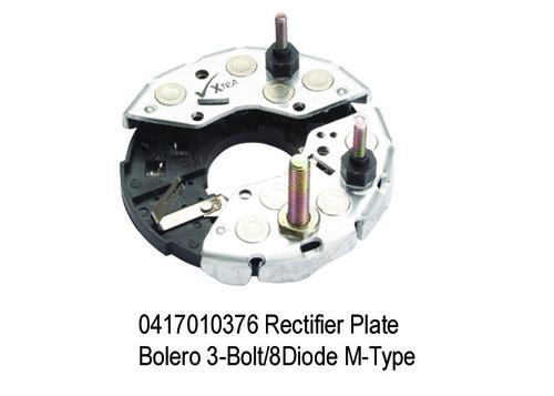 1617 XT 376 Rectifier Plate Bolero 3-Bolt8Diode