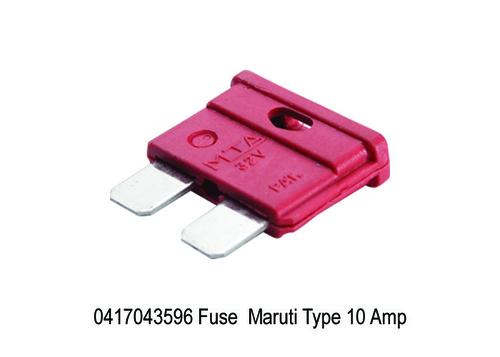 1669 XT 3596 0417043596 Fuse Maruti Type 10 Amp Xt