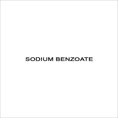 Sodium Benzoate Boiling Point: 249.3 At 760 Mmhg
