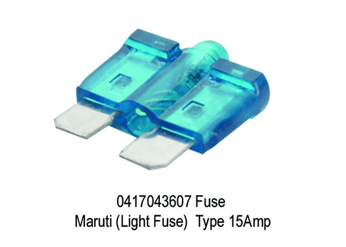 1680 XT 3607 0417043607 Fuse Maruti (Light Fuse) T
