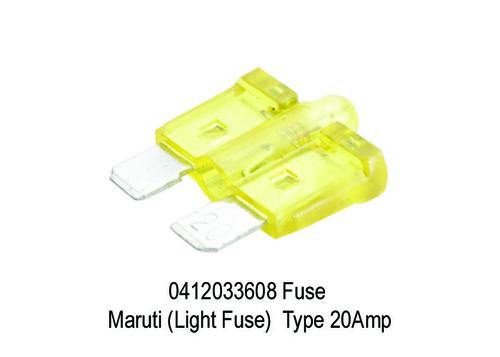 1681 XT 3608 0412033608 Fuse Maruti (Light Fuse) T