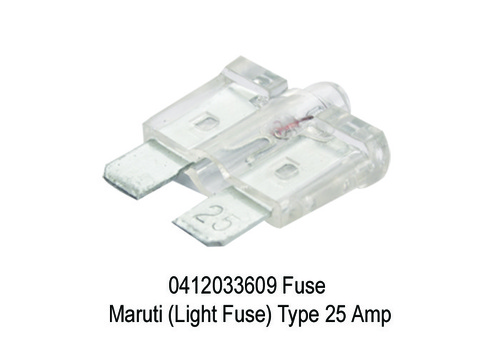 1682 XT 3609 0412033609 Fuse Maruti (Light Fuse) T