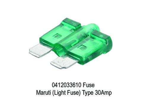 1683 XT 3610 0412033610 Fuse Maruti (Light Fuse) T