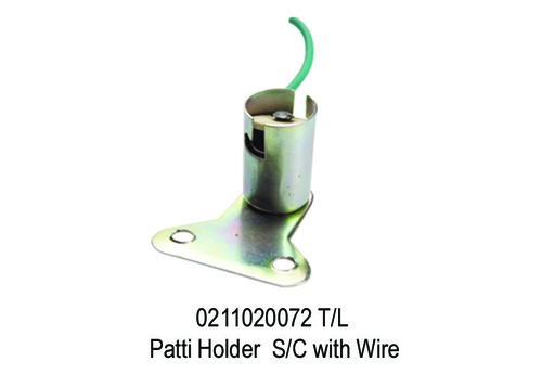 1688 GF 72 0211020072 TL Patti Holder SC with Wire