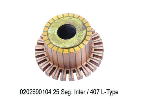 1690 GF 104 0202690104 Self Commutator 25 Seg. Int