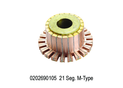 1692 GF 105 0202690105 Self Commutator 21 Seg. M-T