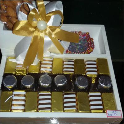 Homemade Chocolates Gift
