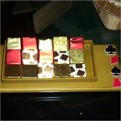 Home Made Chocolates Squares