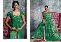 Fancy Green Saree