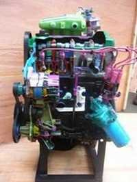 WORKING MODEL OF 4 CYLINDER, 4 STROKE SI ENGINE