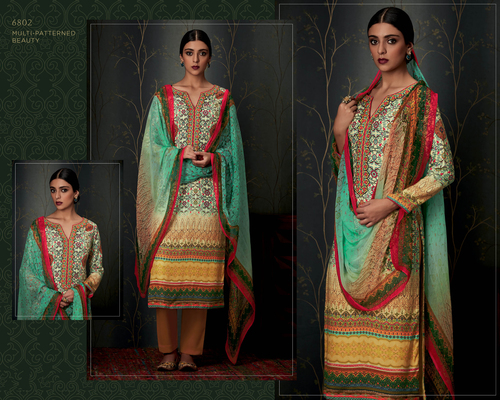Pashmina Stylish Party wear Suit