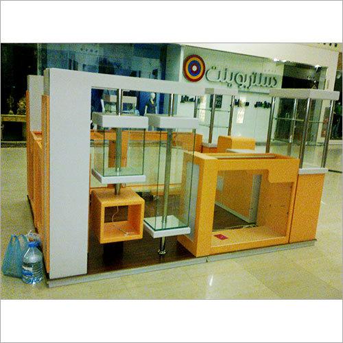 Customized Wooden Kiosk