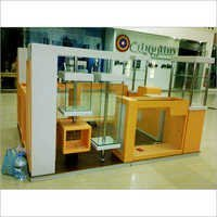 Customized Wooden Kiosk